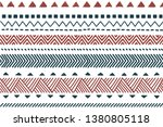 tribal pattern. ethnic seamless ... | Shutterstock .eps vector #1380805118