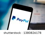 Small photo of April 25, 2019, Brazil. PayPal logo on your mobile device. PayPal is an online payment company. It operates all over the world.