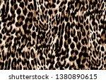 all over leopard pattern ...   Shutterstock .eps vector #1380890615