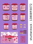 sweet mania game ui pack icons...