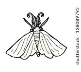 cartoon moth | Shutterstock . vector #138089792