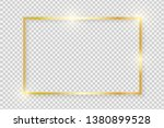 gold shiny glowing vintage... | Shutterstock .eps vector #1380899528