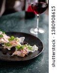 traditional crispy dumplings... | Shutterstock . vector #1380908615