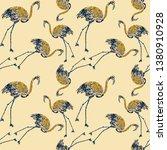 beautiful watercolor pattern... | Shutterstock . vector #1380910928