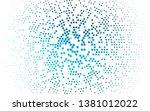 light blue  green vector... | Shutterstock .eps vector #1381012022