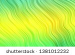 light green  yellow vector... | Shutterstock .eps vector #1381012232