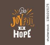 handlettering typography be... | Shutterstock .eps vector #1381015175