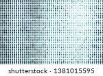 light blue vector pattern with... | Shutterstock .eps vector #1381015595
