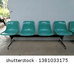waiting seat at the waiting... | Shutterstock . vector #1381033175