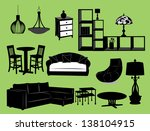 living room | Shutterstock .eps vector #138104915