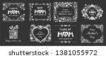 happy mother day background.  i ...   Shutterstock .eps vector #1381055972