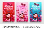 happy mother's day sale poster... | Shutterstock .eps vector #1381092722