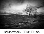 dramatic landscape image of an...
