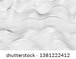 wave lines pattern abstract...   Shutterstock .eps vector #1381222412