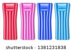 inflatable air bed set of four...   Shutterstock .eps vector #1381231838