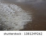 art of tides in the river   Shutterstock . vector #1381249262