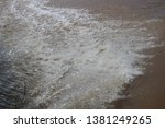 art of tides in the river   Shutterstock . vector #1381249265