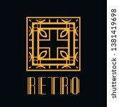 vector logo design template... | Shutterstock .eps vector #1381419698