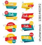sale banner templates design.... | Shutterstock .eps vector #1381440392