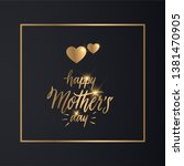 happy mother's day greeting...   Shutterstock .eps vector #1381470905