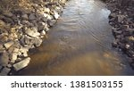 Mountain River With Stones. Th...