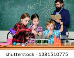 chemistry classes. group... | Shutterstock . vector #1381510775