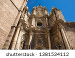 a view of the historic valencia ... | Shutterstock . vector #1381534112