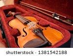 Close Up Of Violin Shallow Dee...