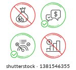 do or stop. payment received ... | Shutterstock .eps vector #1381546355