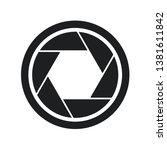 design of shutter cam symbol | Shutterstock .eps vector #1381611842