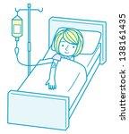 intravenous drip   Shutterstock . vector #138161435