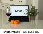 procrastination  delay and... | Shutterstock . vector #1381661102