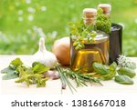 Herbs With Oil And Vinegar ...