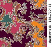traditional colorful seamless... | Shutterstock .eps vector #1381730468