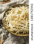 Raw White Organic Bean Sprouts...