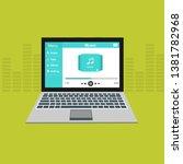 music design. online concept....