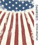 american flag themed background.... | Shutterstock .eps vector #138180992
