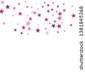 falling stars confetti... | Shutterstock .eps vector #1381845368