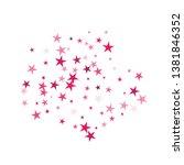 falling stars confetti... | Shutterstock .eps vector #1381846352