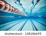 swimming pool under water ... | Shutterstock . vector #138186695