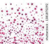 falling stars confetti... | Shutterstock .eps vector #1381870292