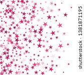 falling stars confetti... | Shutterstock .eps vector #1381871195