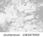 abstract distress floor  white... | Shutterstock .eps vector #1381875005