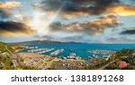 panoramic aerial view of airlie ...   Shutterstock . vector #1381891268