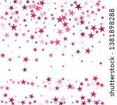 falling stars confetti... | Shutterstock .eps vector #1381898288