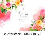 Floral Vector Design Horizonta...