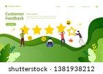 customer feedback concept...