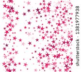 falling stars confetti... | Shutterstock .eps vector #1381977938