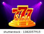 slots 777 banner casino on...