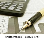 calculator | Shutterstock . vector #13821475